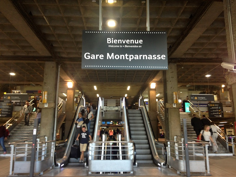 Réservation chauffeur Privé VTC Gare Montparnasse